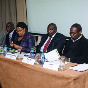 Panelists at the TASAI Launch